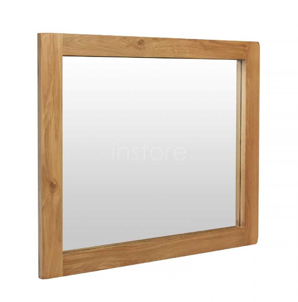 Loxley Oak Large Mirror